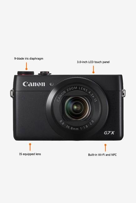Canon PowerShot G7X Point & Shoot Camera Black