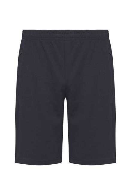 Westsport Active Navy Solid Cotton Shorts