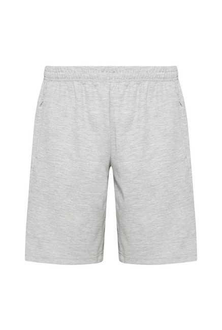 Westsport Active Grey Solid Cotton Shorts