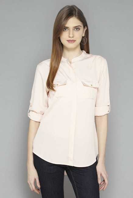 LOV Pink Brandy Blouse