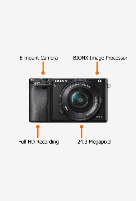 Sony Alpha 6000L (with 16-50mm Lens) Mirrorless Camera