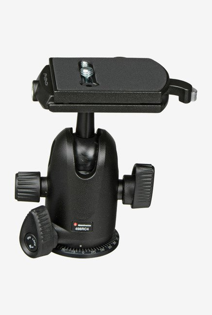 Manfrotto 498RC4 Tripod Ball Head Black