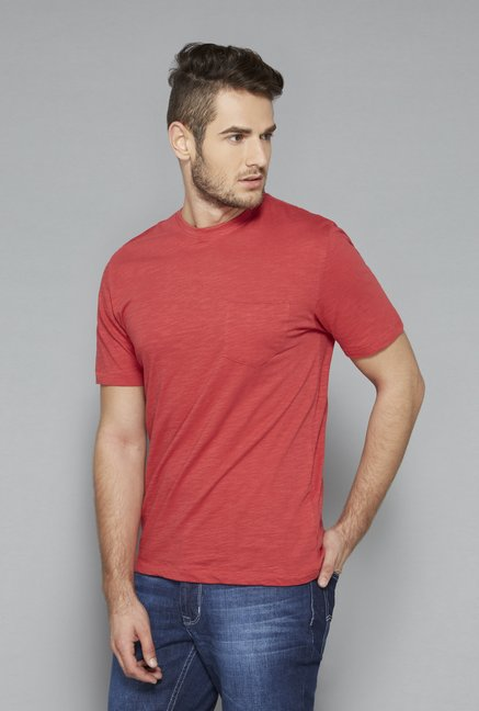 Westsport Rust Crew Neck T Shirt