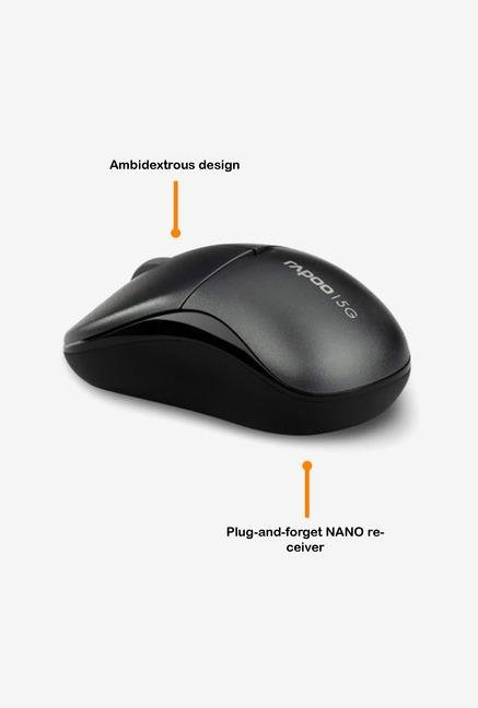 Rapoo 5G Wireless 1090P 3Key Mouse Grey