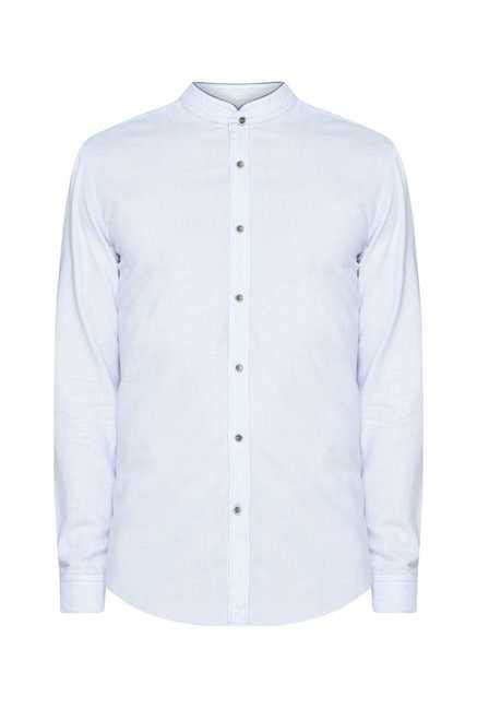 Ascot Blue Pin Stripes Shirt