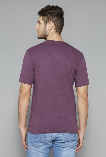 Westsport Purple Crew Neck T Shirt