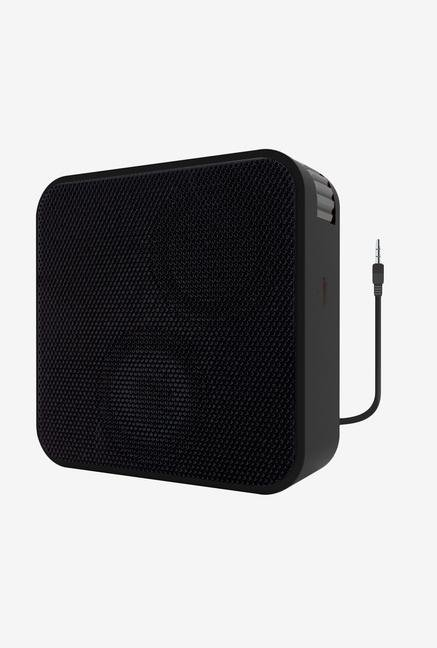 Portronics Cubix II POR-512 Portable Speaker Black