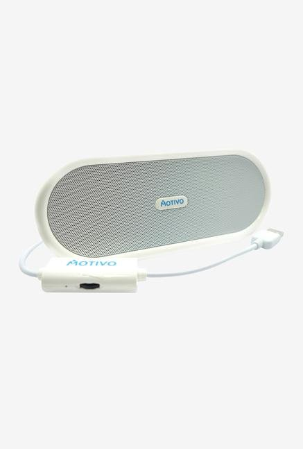 Portronics Sound Bowl POR-526 USB Speaker White