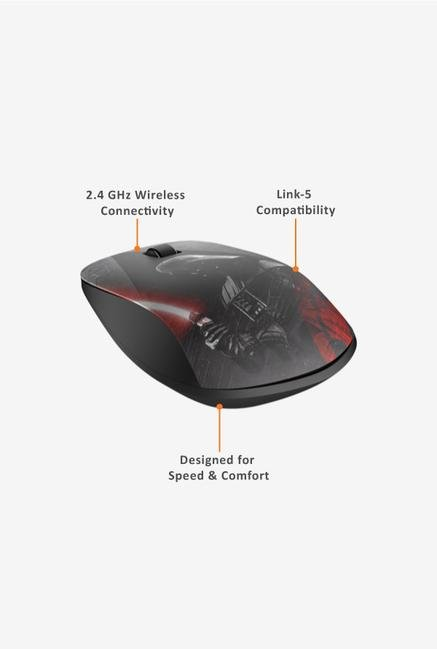 HP Star Wars Edition Z4000 Wireless Mouse Black