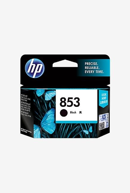 HP 853 Inkjet Cartridge Black