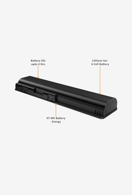 HP Primary 6-cell Notebook Battery Black