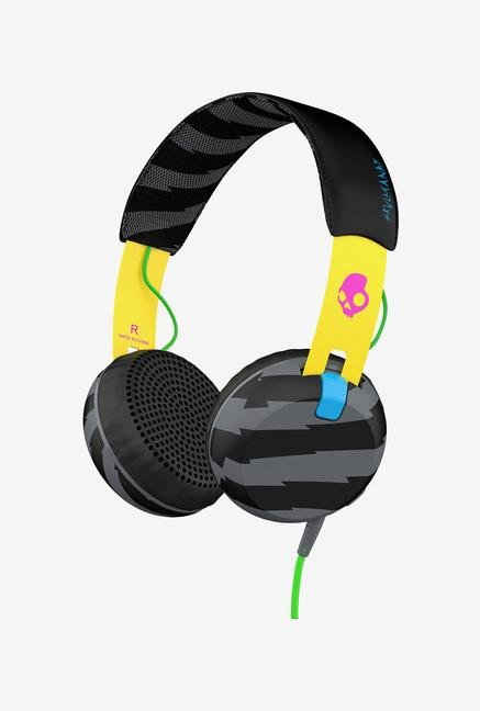 Skullcandy Grind Famed S5GRHT-466 Headphone Yellow & Black