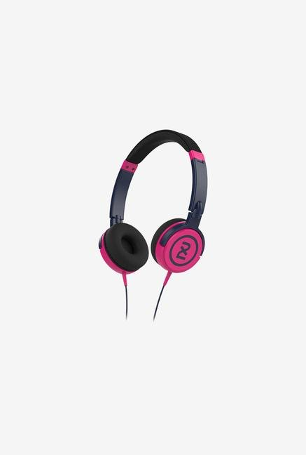 Skullcandy 2XL X5SHHZ-849 On the Ear Headphone Navy & Pink