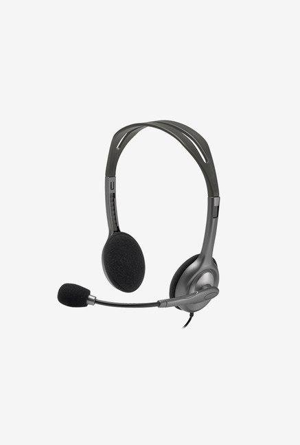 Logitech H110 On the Ear Headset Black