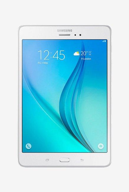 Samsung Galaxy Tab A SM-T355Y 16 GB 8 inch with Wi-Fi+4G(Sandy White) Galaxy Tab A SM-T355Y