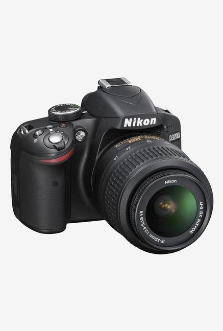 Nikon AF-S 18-105mm D3200 DSLR with Lens Black