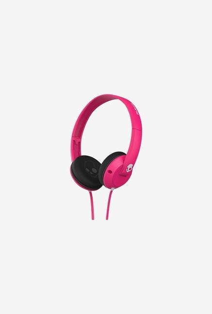 Skullcandy Uprock S5URFZ-055 Headphone Pink & Black