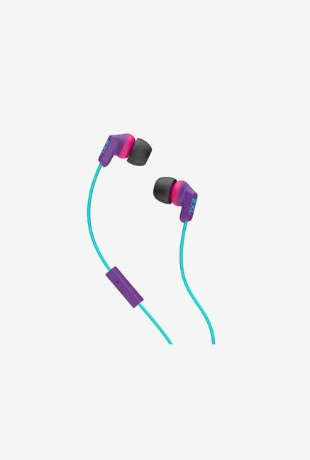 Skullcandy 2XL X2WHFY-843 Headphone with Mic Whip Purple