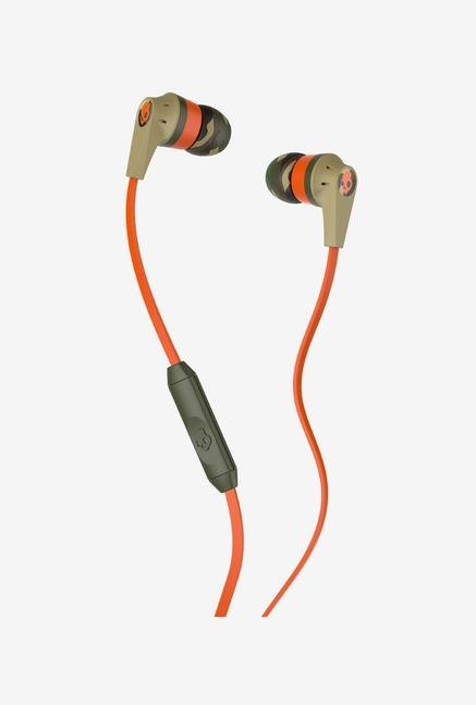 Skullcandy Riot 2.0 S2IKGY-372 Headphone Orange & Beige