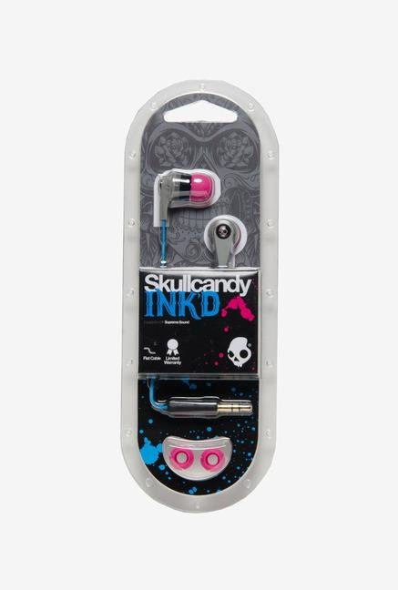 Skullcandy Inkd 2.0 S2IKFZ-383 Headphone Cyan Grey