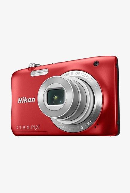 Nikon Coolpix S2900 Pont & Shoot Camera Red