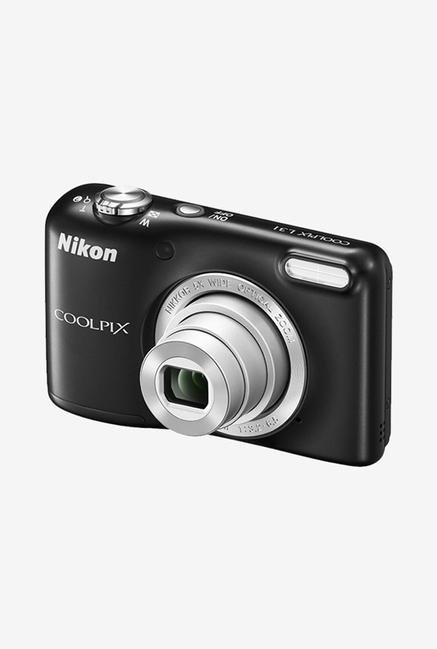 Nikon Coolpix L31 Point & Shoot Camera Black