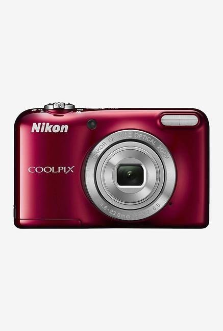 Nikon Coolpix L31 Point & Shoot Camera Red