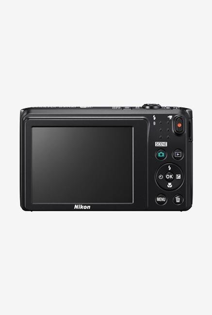 Nikon Coolpix S3700 Point & Shoot Camera Black