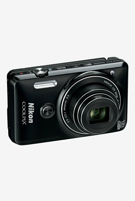 Nikon Coolpix S6900 Point & Shoot Camera Black