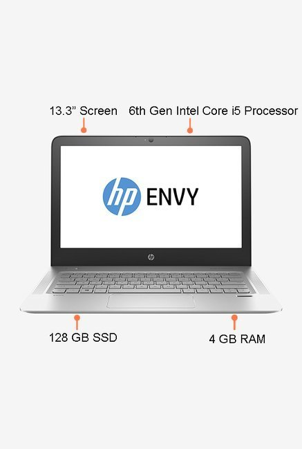 HP Envy 13 D052TU Laptop (Silver)