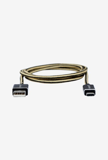 Stuffcool Duke USB 2.0 To USB-C 3.1 Charge Cable (Black)