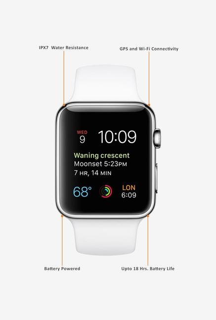 Apple Sport MJ3V2HN/A Smart Watch White