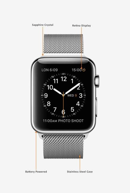 Apple Sport MJ3Y2HN/A Smart Watch Grey
