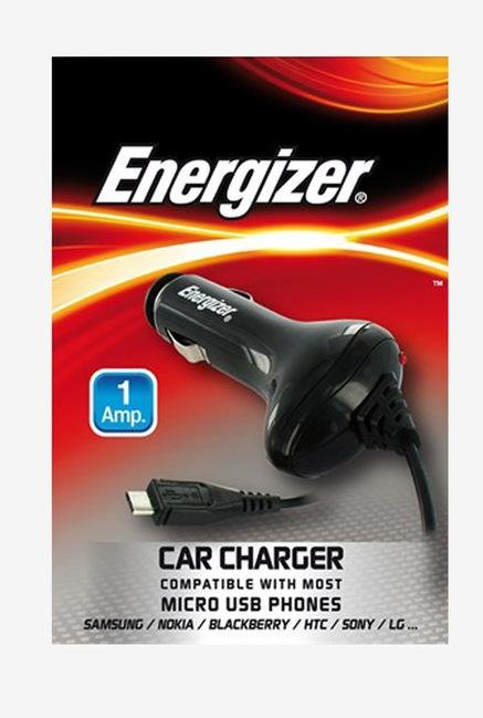 Energizer Micro USB ULCDCMC2 Car Charger Black