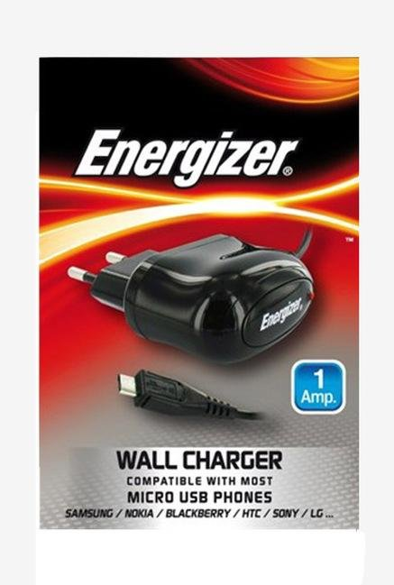 Energizer Micro USB ULCACEUMC2 Wall Charger Black
