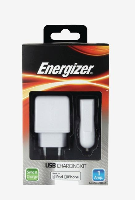Energizer Classic 3in1 31UEUCIP2 iPhone Adapter White