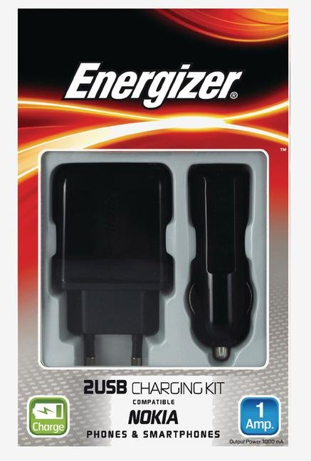 Energizer Classic 3in1 32UEUCMC2 Adapter Black