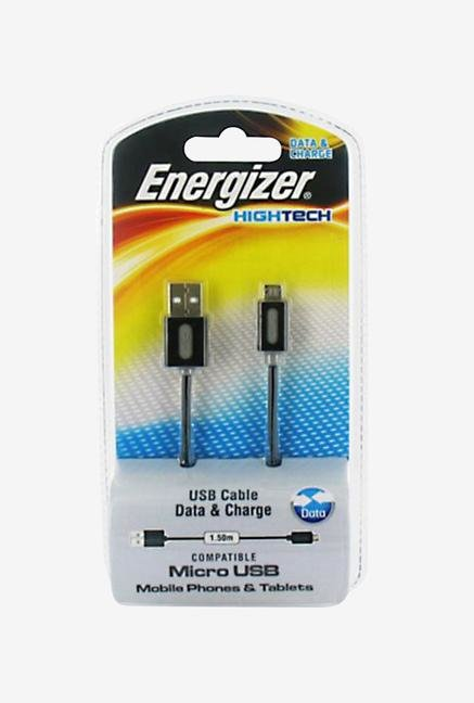 Energizer Hightech LCHEHUSBSYMC2 1.5m Micro USB Cable Black
