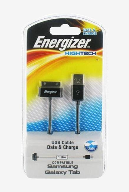 Energizer Hightech 1.5m LCHEHUSBSYSM2 Samsung USB Cable Black
