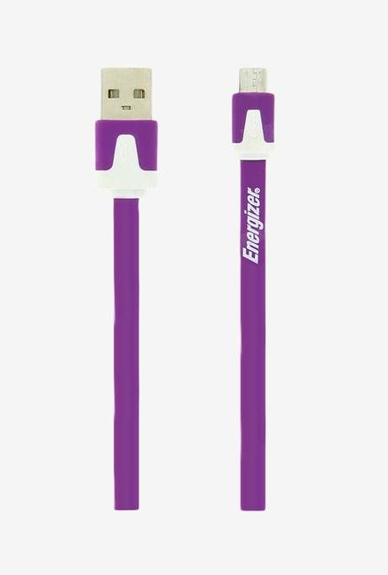 Energizer Hightech Ultra Flat LCAEHUFCMCPU2 USB Cable Purple
