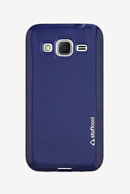 Stuffcool DXSG360 Back Case for Galaxy Core Prime Blue