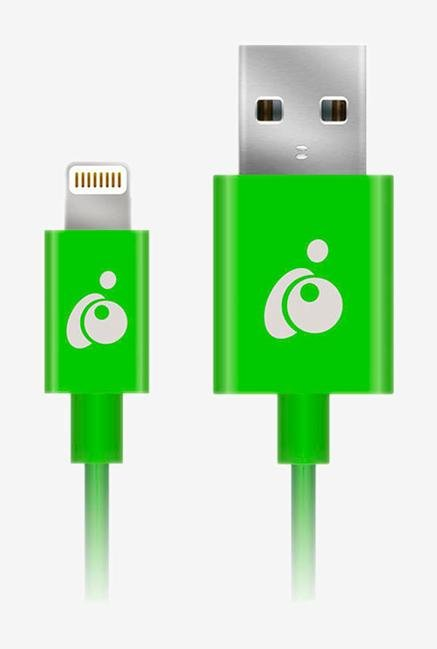 Iogear GRUL01-GR Reversible USB-LTNG Cable Green