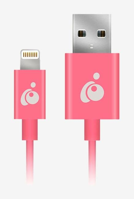 Iogear GRUL01-PK Reversible USB-LTNG Cable Pink