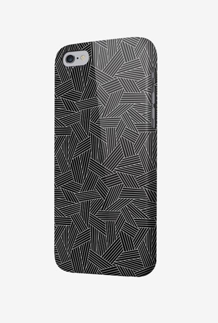 OXO Rib What Else XBOIP65WEGVE6 iPhone 6+ Back Case Grey