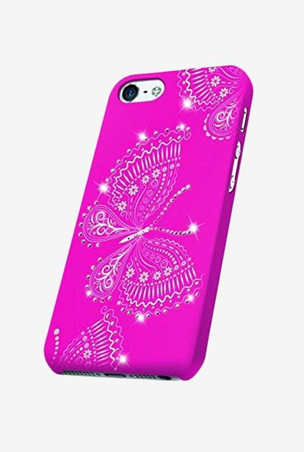OXO Bling Butterfly XCOIP65BRGBP6 iPhone 6+ Back Case Pink