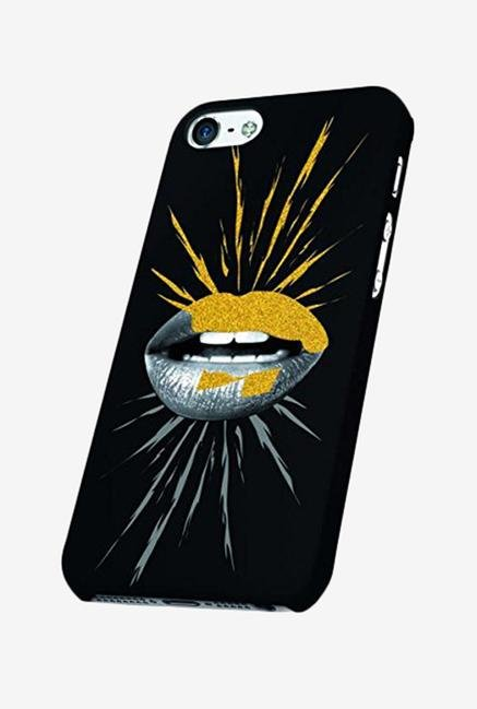 OXO Rock Glam Mouth XCOIP65ROGMG6 iPhone 6+ Back Case Black