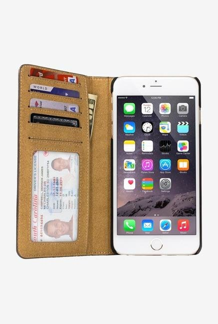 Twelve South BookBook 12-1435 iPhone 6+ Case Plus Black