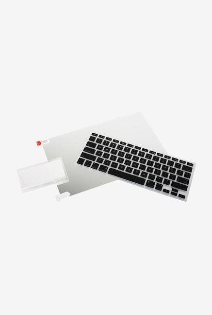"Iogear 13"" Macbook GKSMP13 KBD Skin & Screen Protector Black"