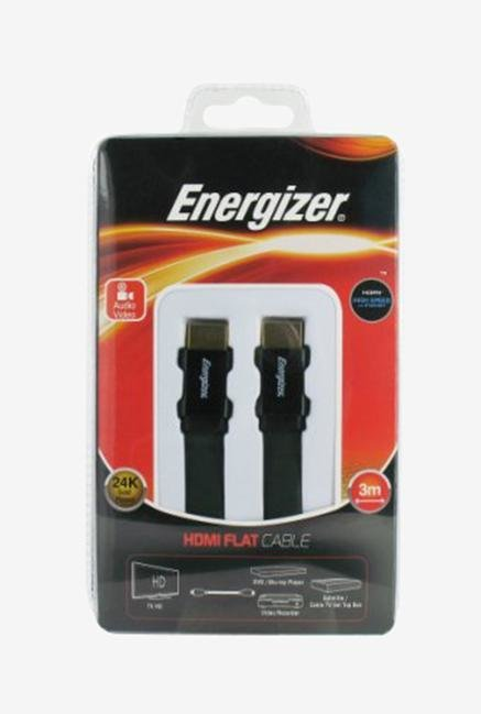 Energizer Ultra Flat LCAECFHAA30 3m HDMI Cable Black