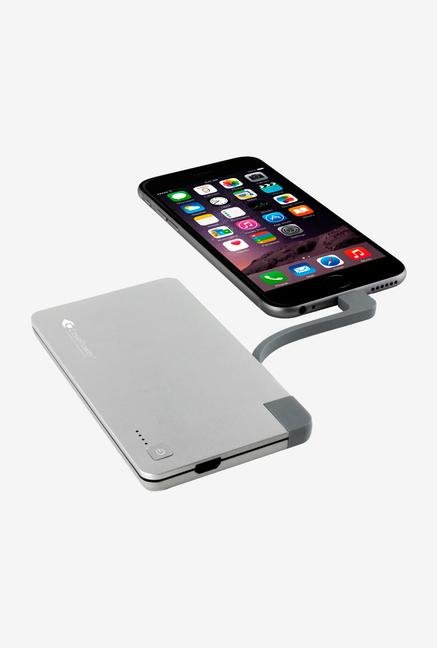 Case Power Edge Go 3000 mAh Power case Silver
